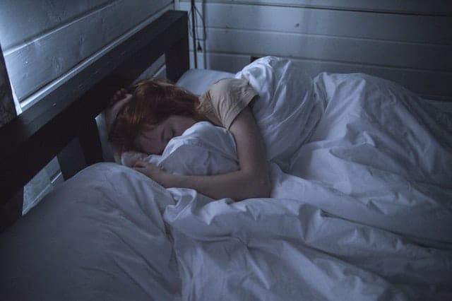 people sleeping